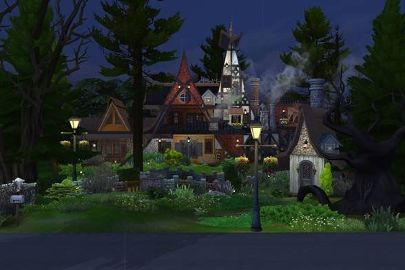RT @FruUtter: Hocus Pocus Witches Sanderson Home Lot on #TheSims4 Gallery! https://t.co/fpbOvI2oDP