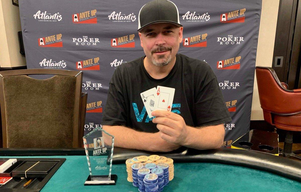 Ante Up Magazine On Twitter Congrats To Darren Walker For Winning Event 5 Of The Ante Up Poker Tour At Pokeratlantis Https T Co Vvdljco0um