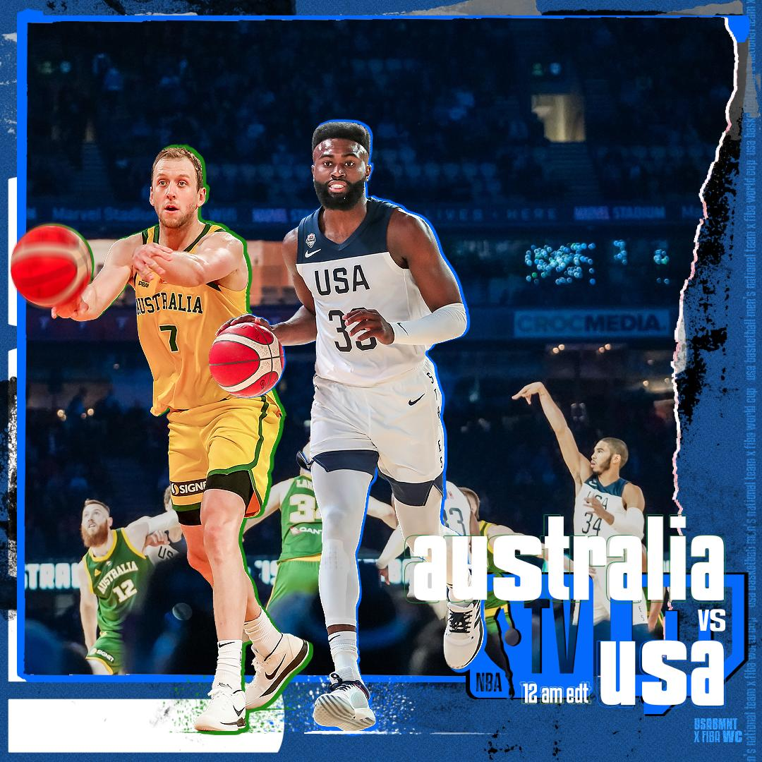 Let's run it back @BasketballAus. #BoomersUSA Round Two from Melbourne    @NBATV    http:// twitch.tv/nba      12 AM EDT<br>http://pic.twitter.com/n9iDmeT7Ox