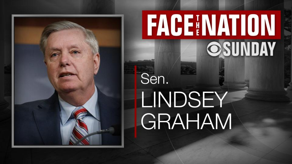 SUNDAY: We interview Senate Judiciary Committee Chairman @LindseyGrahamSC Our other guests ➡️ cbsn.ws/30yz9PG