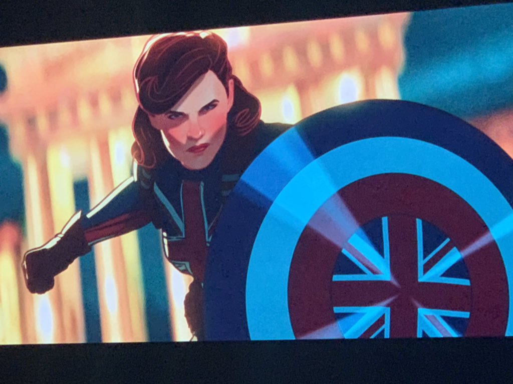 Peggy Carter Official Art - What If!? Disney+