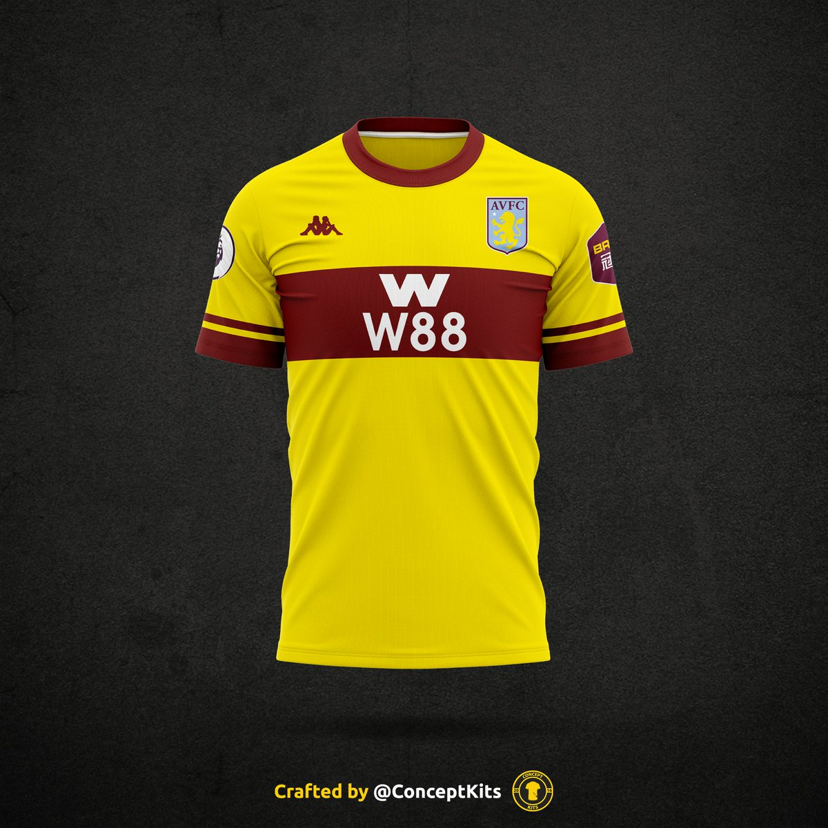 Concept Kits On Twitter Jspdavfc Here Is Your Aston Villa Football Club Away Kit Concept For The 2020 21 Season Avfc