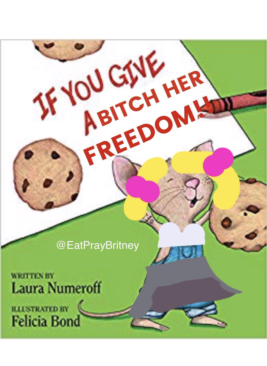 Team Britney's defense of the conservatorship is literally this book! #FreeBritney