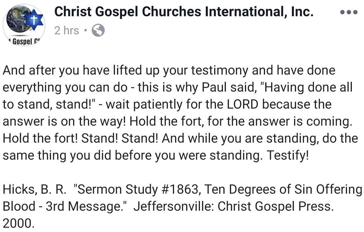 Christ Gospel Church (@ChristGospelCII) | Twitter
