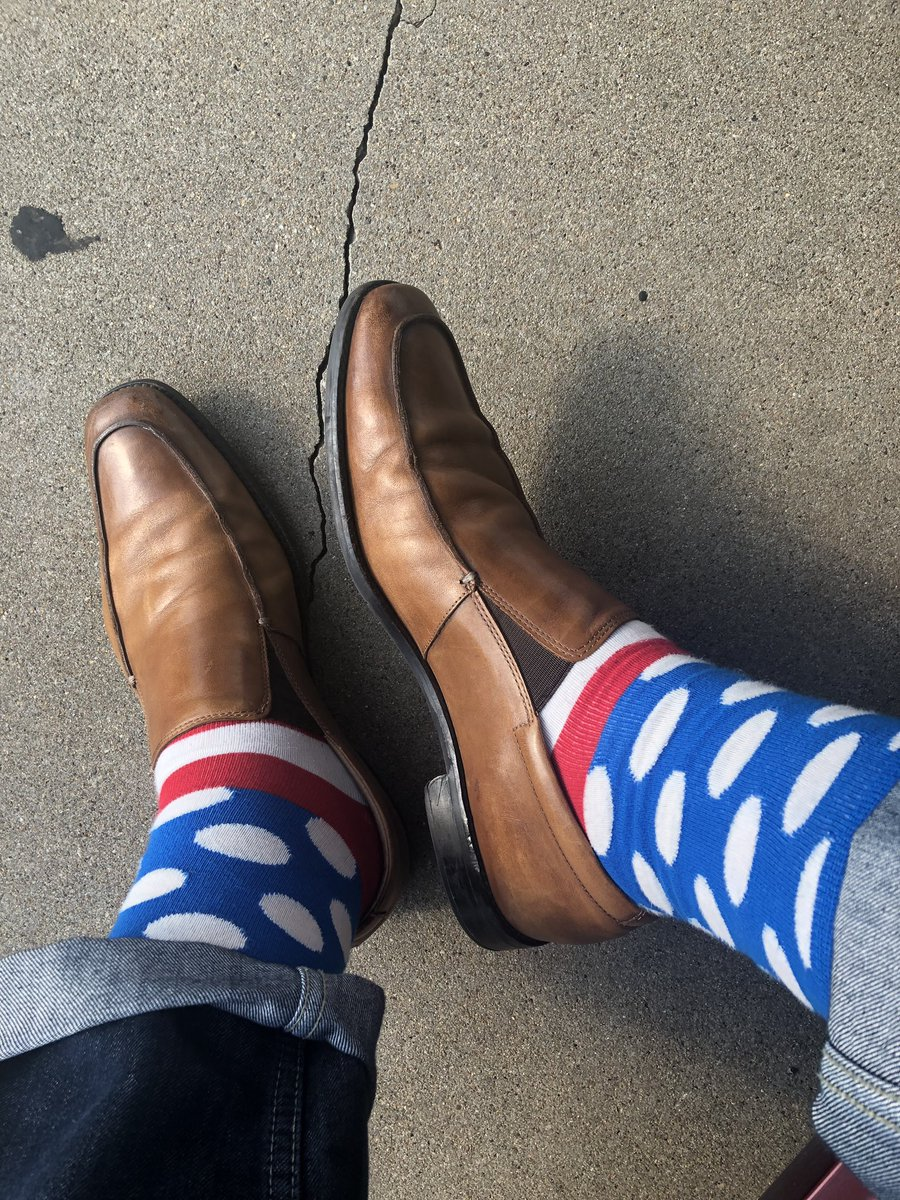 #funsockfriday #sockgame @HappySofficial and loafers by @gordonrush<br>http://pic.twitter.com/RUT2CILiIo