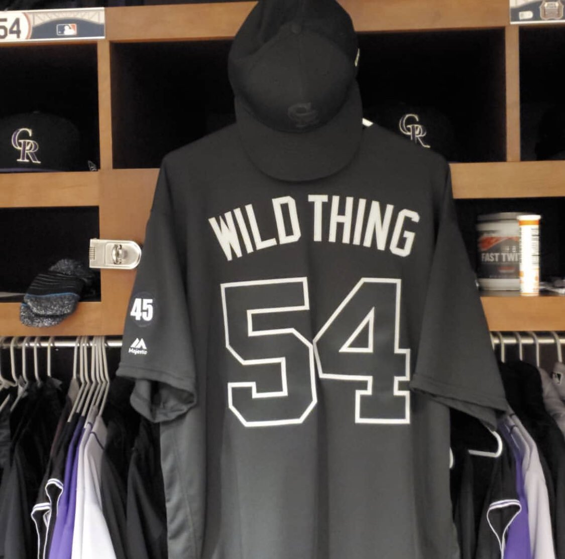 """truly honored that my love child will  grace a major league field as """"Wild Thing"""" !  vamos allá indeed ! https://t.co/rZ0Pa52ZIe"""
