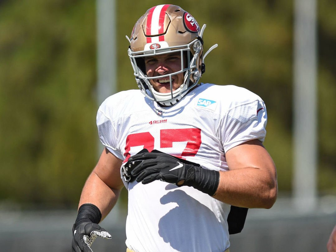 RT @theScoreNFL: 49ers' Lynch: Nick Bosa '50-50' for season opener https://t.co/KIgNqBqSTg https://t.co/7yVP59y79j
