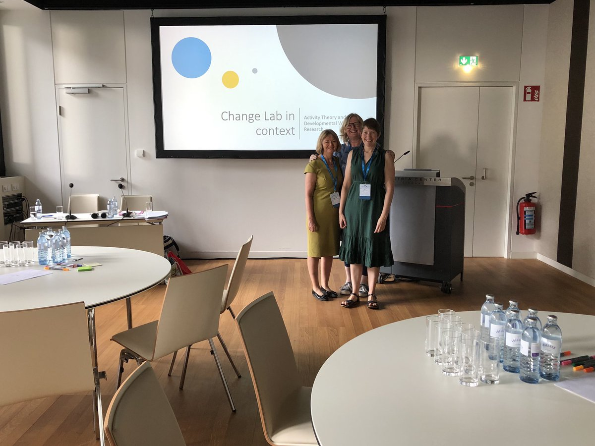Ready to start our Activity Theory/Change Lab workshop in 0.96 #AMEE2019<br>http://pic.twitter.com/bYLYNLc8kQ