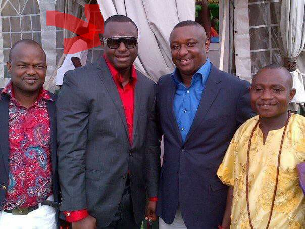 """This picture would probably be TRENDING now if this guy was standing in same picture with a top member of the opposition party. To even imagine that he is in same picture with a former EFCC prosecutor.   Number 3 on The FBI """"77 US$ Fraudlist"""" Jerry Elo Ikogho AKA J Man. <br>http://pic.twitter.com/iy6oXTwhor"""