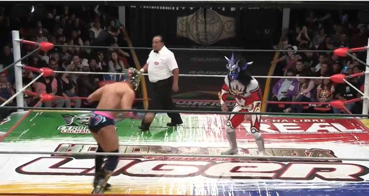 On July 20, Arena Coliseo in Mexico was a colourful scene as promotions came together to honour Jyushin Thunder Liger! Watch this unique match with commentary from the legend himself on @njpwworld!  http:// ow.ly/Ypg850vGN1k      <br>http://pic.twitter.com/0maHQ1syqN