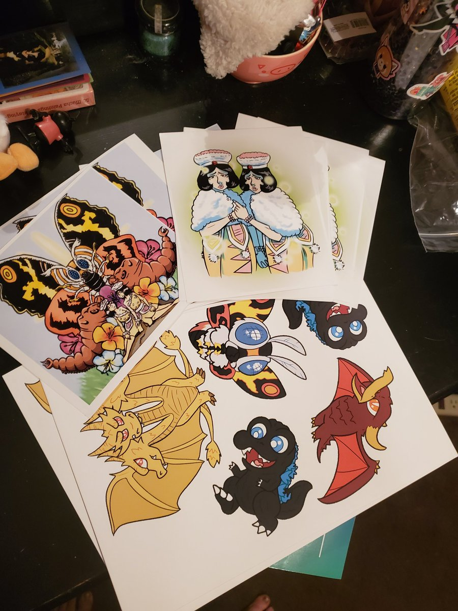 Come to this Godzilla Festival tomorrow!!! Ill be vending and have some stickers and prints with @quasarcastic and @cesya !!! At the Metal Arts Village 5 to 11 pm!