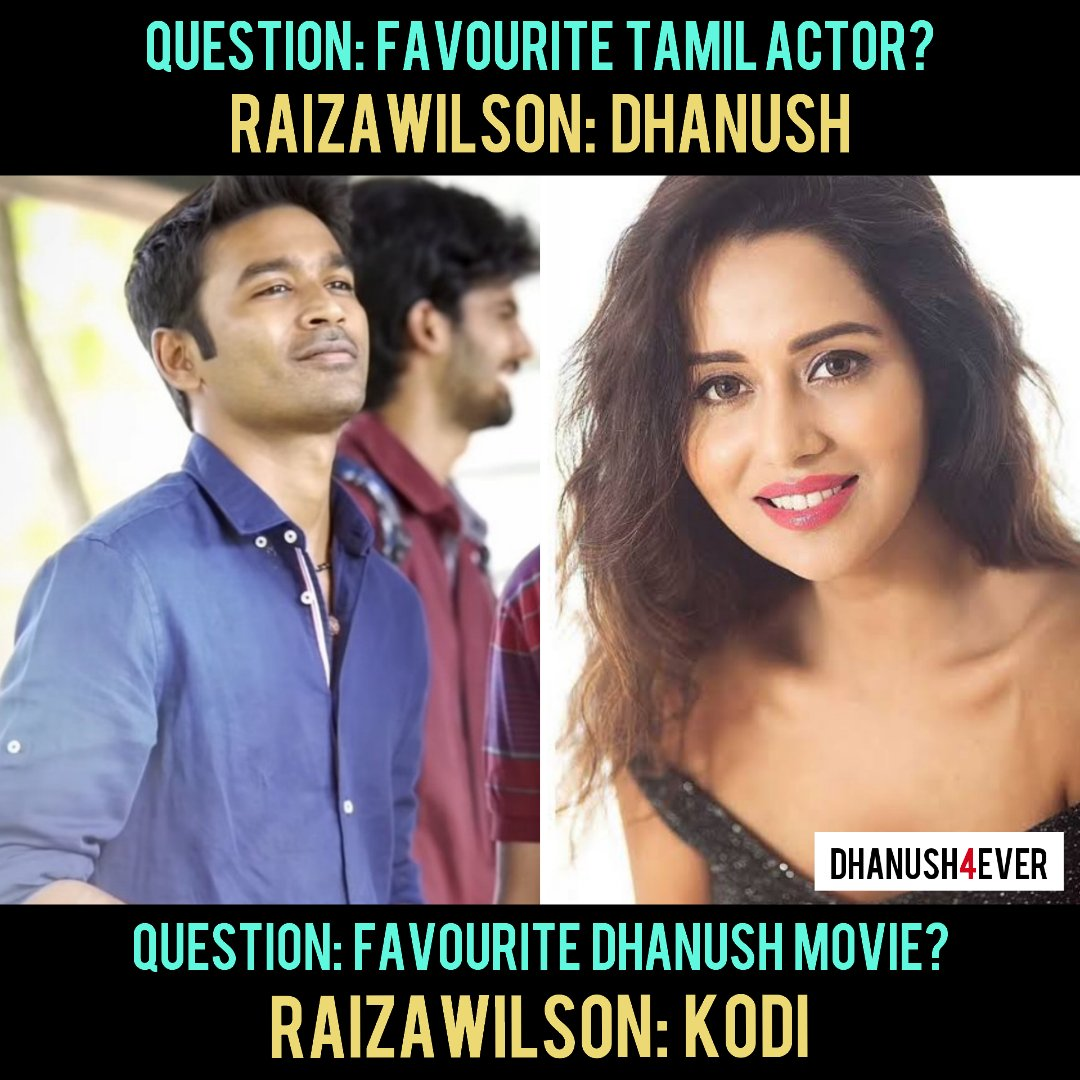 #pyaarpremakaadhal Fame @raizawilson About Our Thalivar In Yesterday's Ask Me A Question (Instagram) 😎🔥  Keep Support ☺️ -  Stay Tuned 🤗 @dhanush4ever #SpreadLove ❤️  #raizawilson #Dhanush #dhanushkraja #asuran #kodi #pattas #dhanush4ever