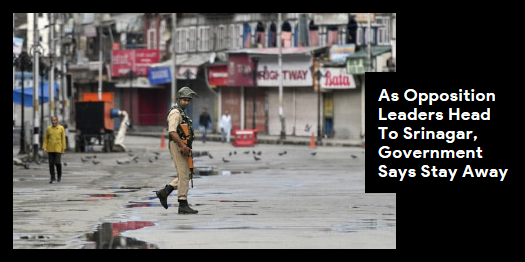 Lead story now on http://ndtv.com:Congress leader Rahul Gandhi and leaders of other opposition parties will today visit Jammu and Kashmir. https://www.ndtv.com/india-news/as-rahul-gandhi-opposition-leaders-head-to-jammu-and-kashmir-government-says-stay-away-2089677… #NDTVLeadStory