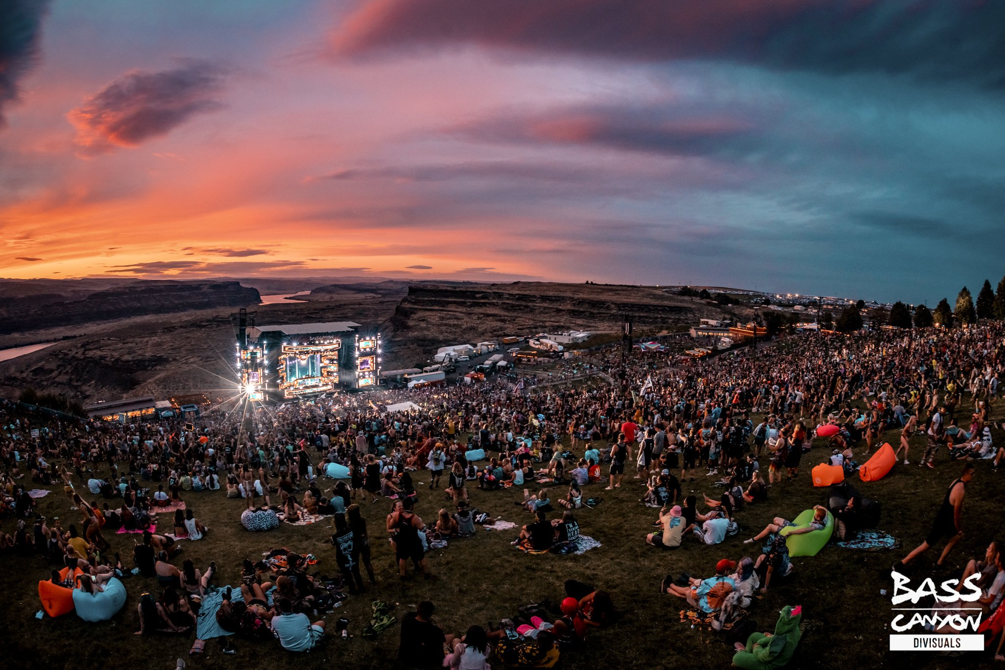 Bass Canyon 2019 photos - Friday