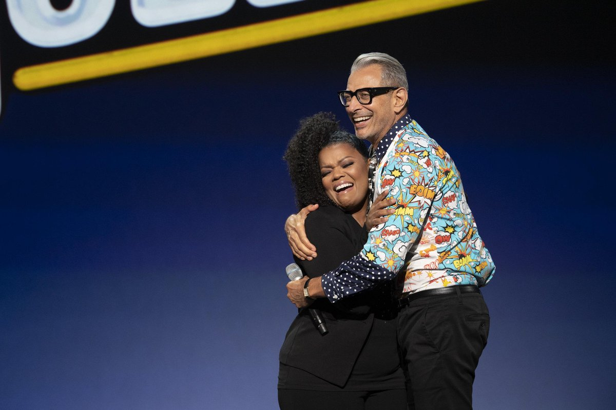 .@YNB at the #DisneyPlus Showcase is our current mood #D23Expo<br>http://pic.twitter.com/gad4LTdHui
