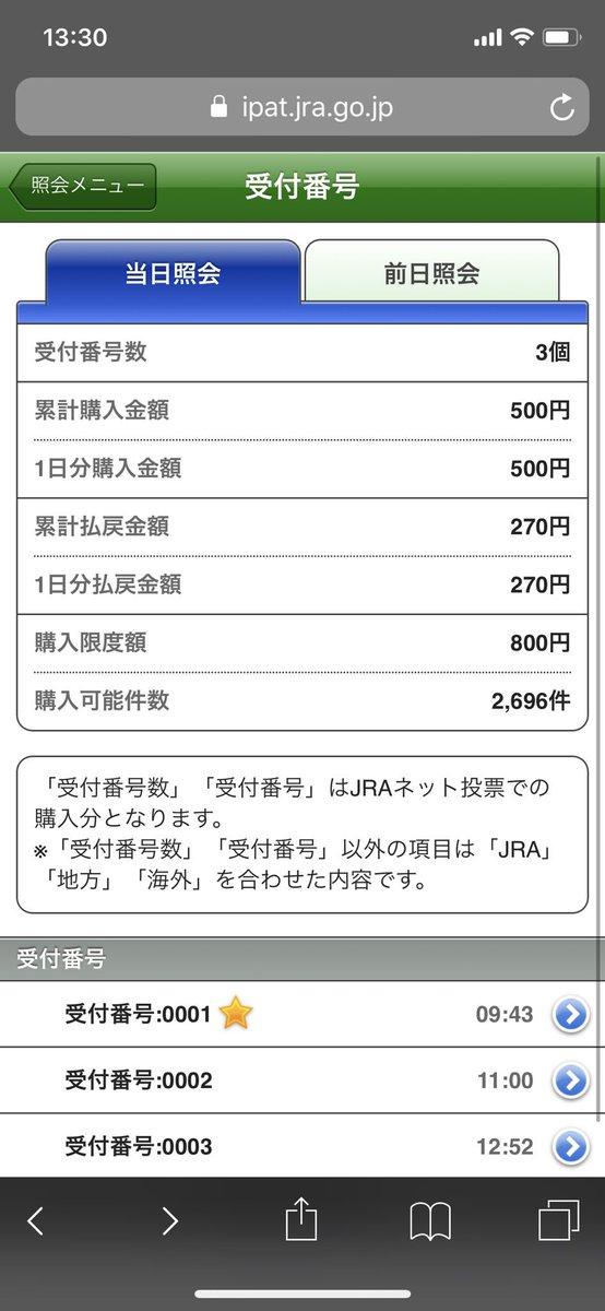 1日で軍資金どこまで増やせるか企画  新潟6R  ワイド8-10  外れ  10は1着だったが、8が5着...  現在:−230円