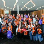Image for the Tweet beginning: Our @VirginAustralia #FootyFamily is ready