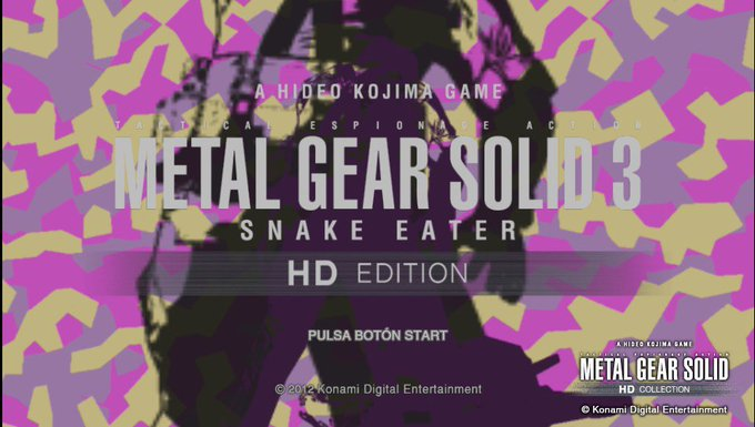 Happy birthday to Hope you can have a great Day.And to celebrate I will play MGS3 on the psvita