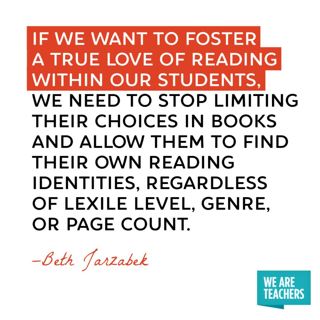 You cannot force kids to love #reading.