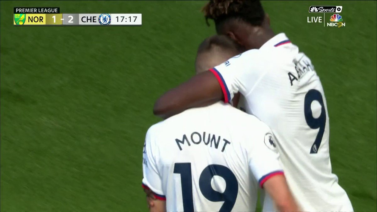 Pulisic Assist for Mount 💥