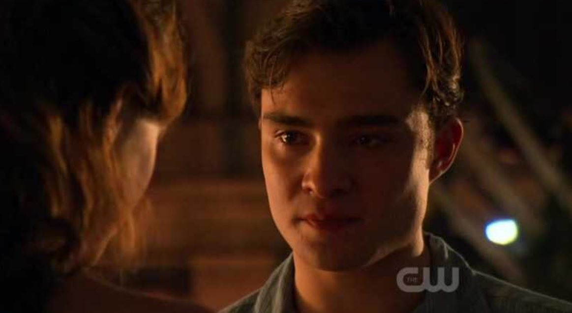 'Your world would be easier, if I didn't come back.'  'It's true. But it wouldn't be my world without you in it.'  ❤️  #GossipGirl