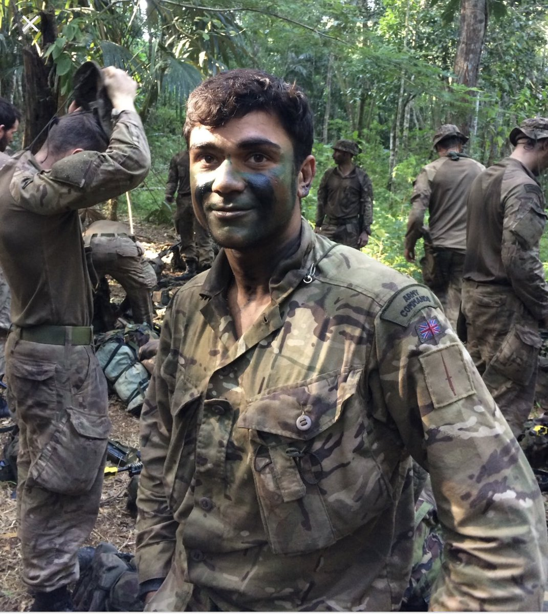 Commandos were formed in WW2 at request of Churchill. After war most commando units disbanded except @RoyalMarines units and certain @BritishArmy personnel, who still today complete the arduous training. This commando is at @JungleDivision  #Infantry<br>http://pic.twitter.com/RZJSytauwg