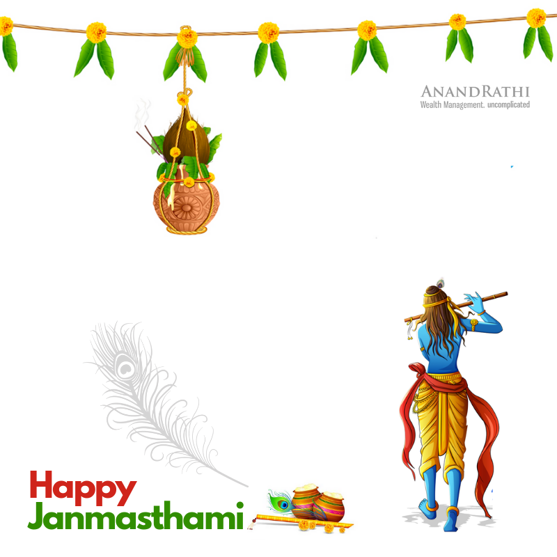 Team AnandRathi Private Wealth Management wishes everyone a very Happy Janmashtami!#HappyJanmasthami2019 #Janmasthami #LordKrishna#KrishnaJanmasthami