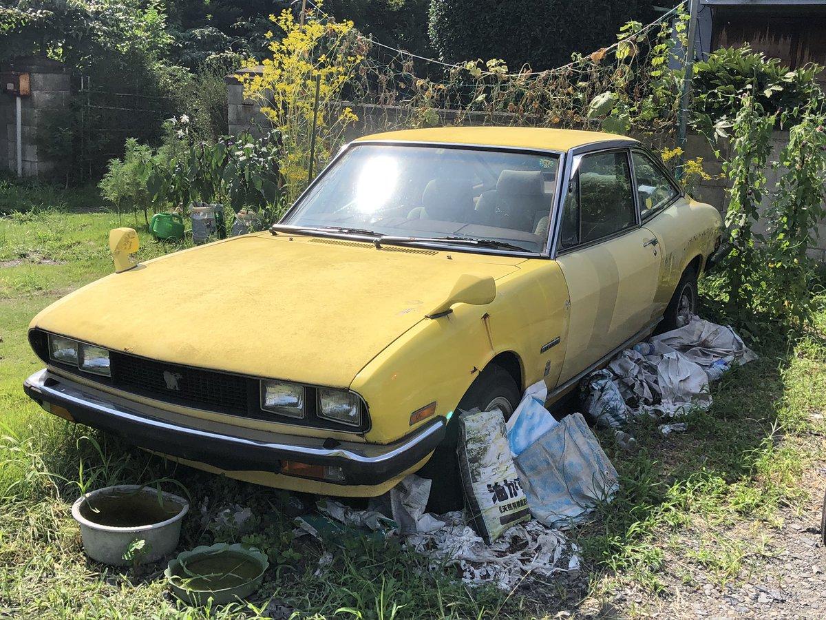 test ツイッターメディア - いすゞ 117クーペ 草ヒロ  塗装が色あせてるけどあとは割と良さげ https://t.co/4b38bBBzrd