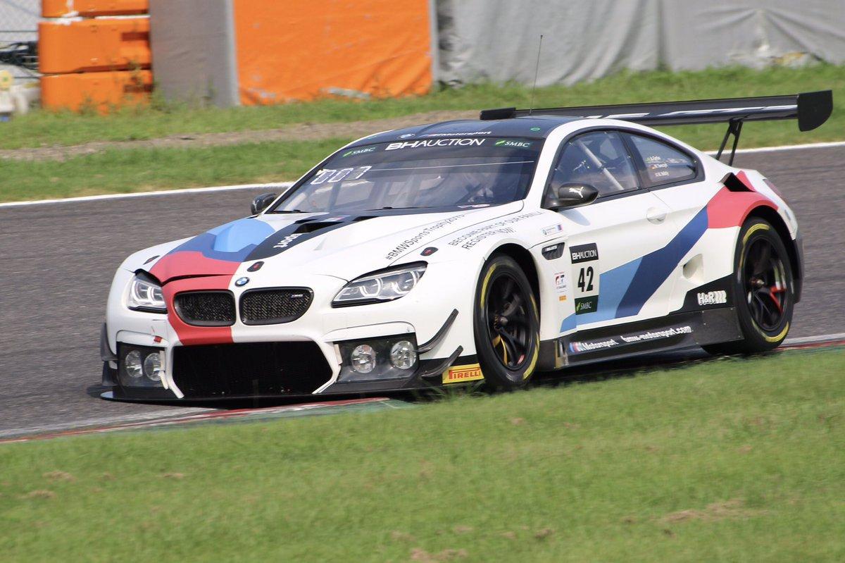 test ツイッターメディア - Pole Shootoutを制し明日の決勝レースのポールポジションを獲得したのは[42]BMW Team Schnitzer でした!!!!! 100万円ゲットぉぉぉ!!  #SUZUKA10H #最強王者決定戦 https://t.co/uE9zLVU6bk