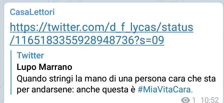 #MiaVitaCara