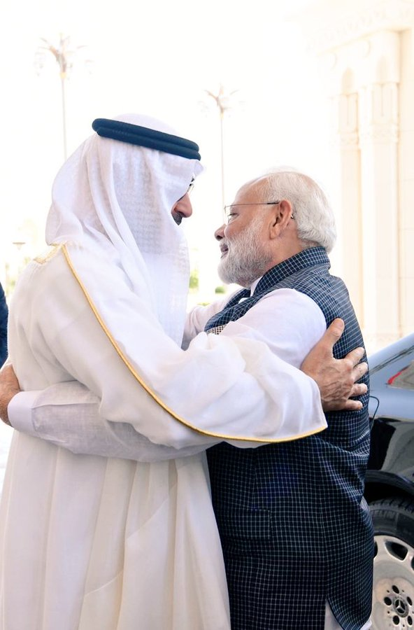 UAE can be valuable partner in realizing India's five trillion dollar economy: PM