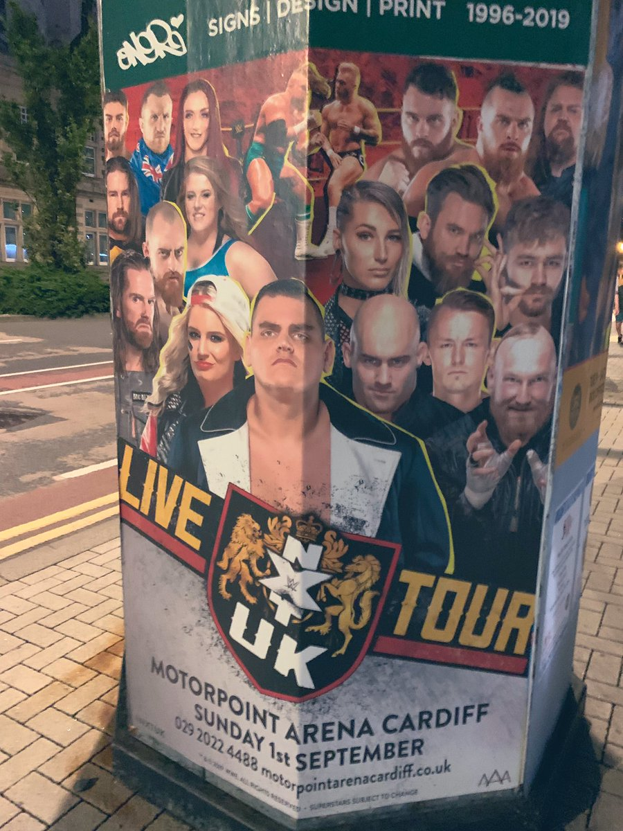 Tickets for the aftermath of #NXTUKTakeOver: Cardiff on 1 September available here: https://motorpointarenacardiff.co.uk/whats-on/nxt-uk-live…