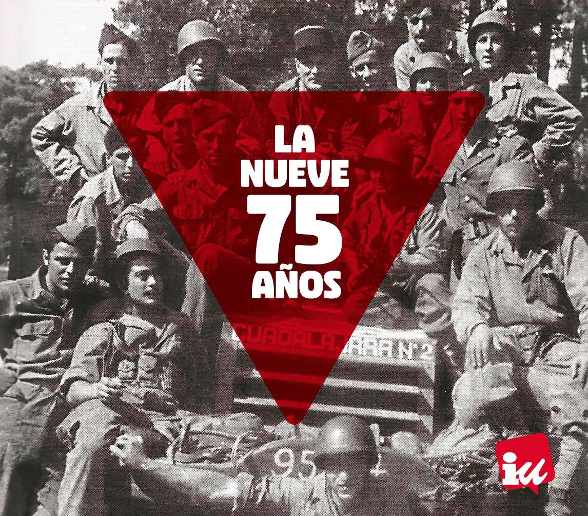 🔻Reivindicamos la Europa fraterna y antifascista. Por eso en este 75 aniversario, recordamos a los combatientes españoles que lucharon en la #LiberationdeParis #ArribaLasQueLuchan #LaNueve #MemoriaHistorica