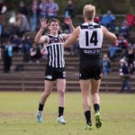 Image for the Tweet beginning: The Magpies have stormed into