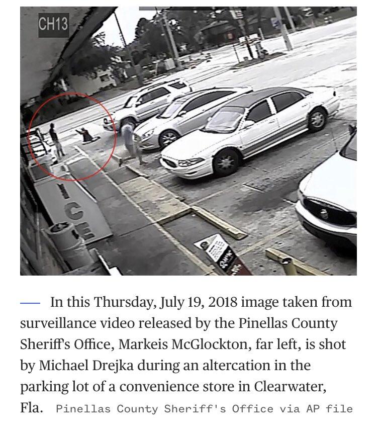 Florida man found guilty in parking lot shooting of unarmed black man.Michael Drejka shot and killed Markeis McGlockton following a dispute over a handicapped-accessible spot in July 2018. #MarkeisMcGlocktonhttps://www.nbcwashington.com/news/national-international/Prosecutor-Florida-Parking-Lot-Shooter-Was-a-Vigilante-558060221.html?akmobile=o…