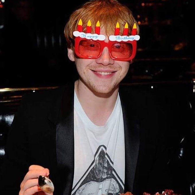 Happy Birthday wonderful Actor Rupert grint
