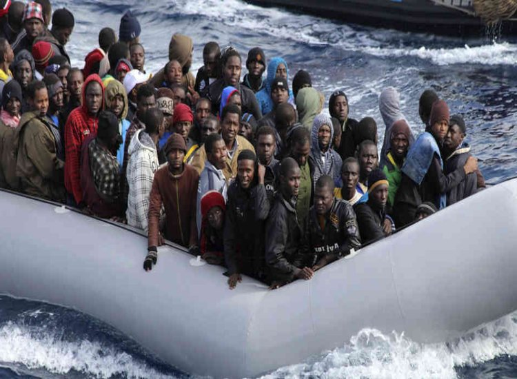 Absolute uproar as Irish gov agree to take in some 350 migrants from a ship in the Mediterranean Sea - theliberal.ie/absolute-uproa…