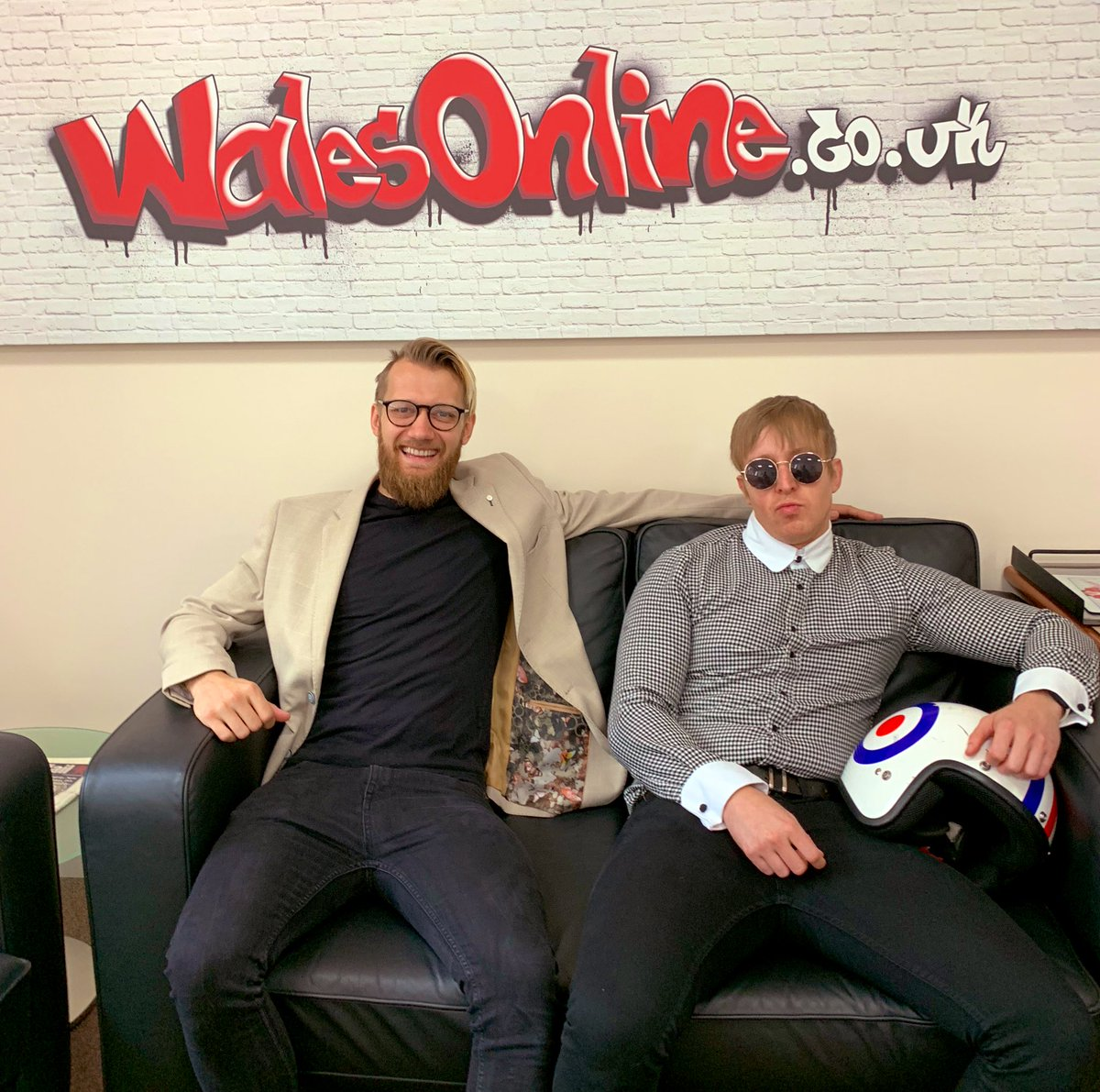 Ahead of their homecoming at #NXTUKTakeOver: Cardiff, @MandrewsJunior & @Flash_Morgan are here at @WalesOnline to talk all things #NXTUK 🏴