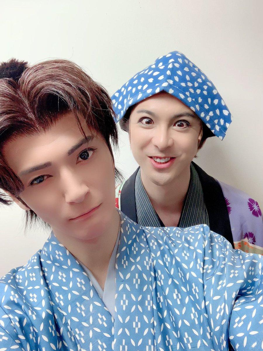 舞台蘭仙台公演初日夜公演も誠にありがとうございました!裕一郎さんと。ブログ更新👌