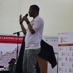 Image for the Tweet beginning: Mr. Torika Mophanga of @UNFPASA