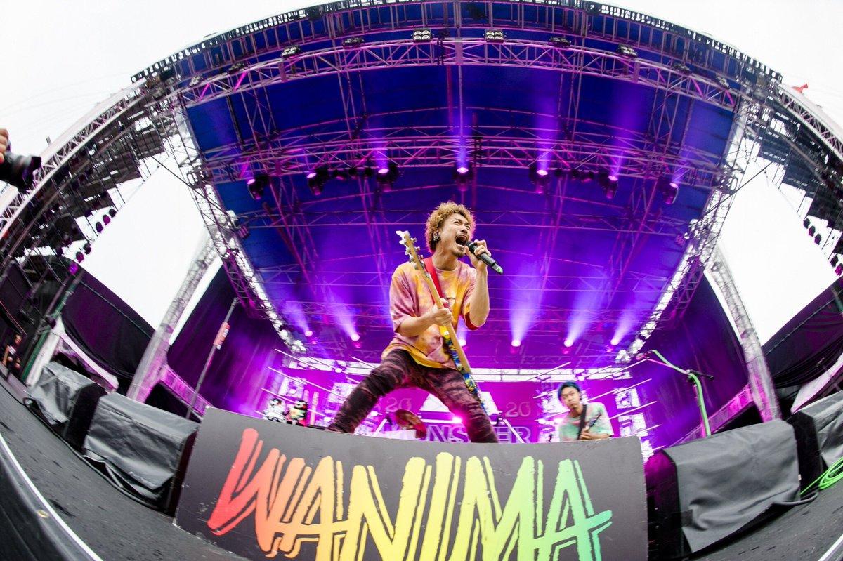 【MONSTER baSH 2019】集まってくれた皆さんにTHANX!!モンバスにBIG UP!!Photo by Jon…#WANIMA #モンバス