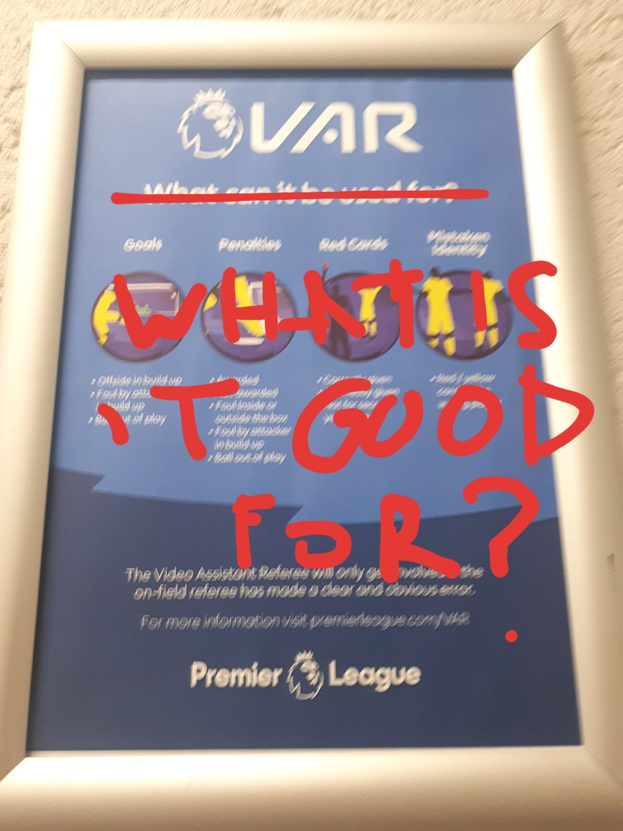 VAR. What is it good for?! #BHAFC