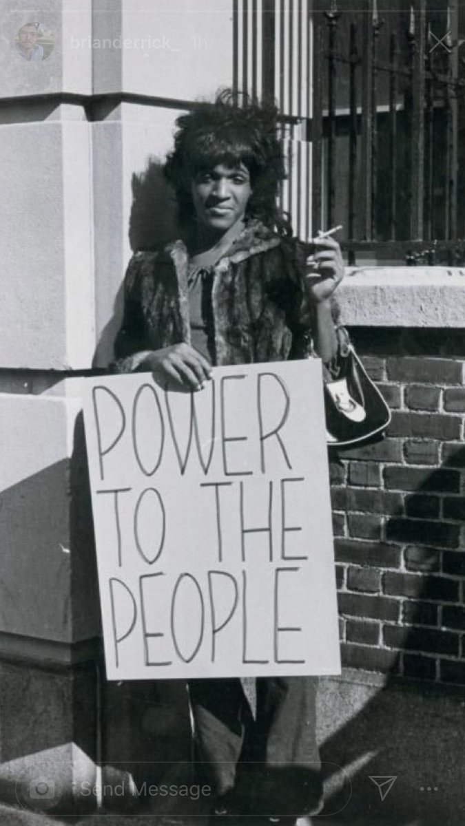 Marsha would have been 74 today...rest in power