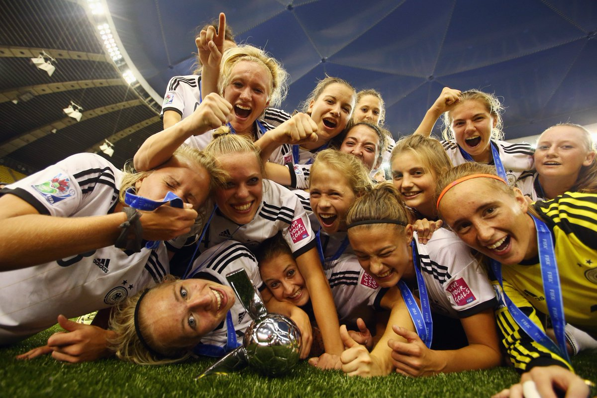 🗓 #OnThisDay in 2014 Germany won the #U20WWC for a record-equalling 3rd time after a hard-fought 1-0 win over Nigeria after extra time. 🇩🇪🏆