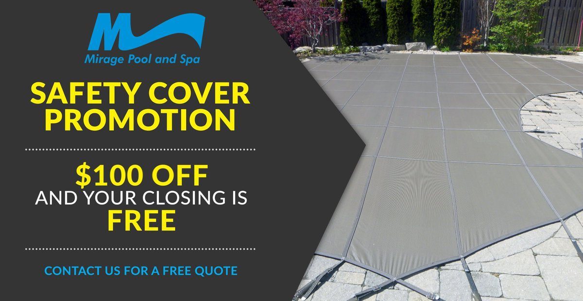September is right around the corner, which means back-to-school, winter covers, and pool closings. Please call, click or visit us in-store to get a free safety cover quote. Act now and receive an additional $100 off and a free full closing!  https://t.co/FjZYDFQhFS https://t.co/KZsGgFJG7k