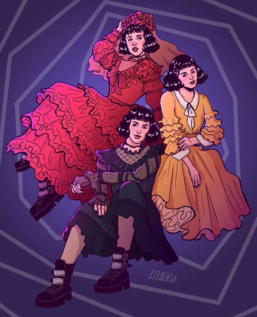 Beetlejuice On Broadway On Twitter Lydia Lydia Lydia Our Favorite Things Come In Threes By Zzzoehsu