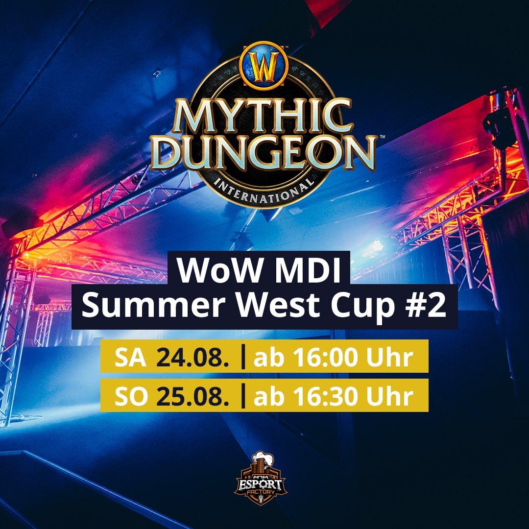 Heute sind wir live mit @kimuh_tv und co! Schaltet ein auf @Warcraft_DE / twitch.tv/warcraftDE ! #mdisummercup