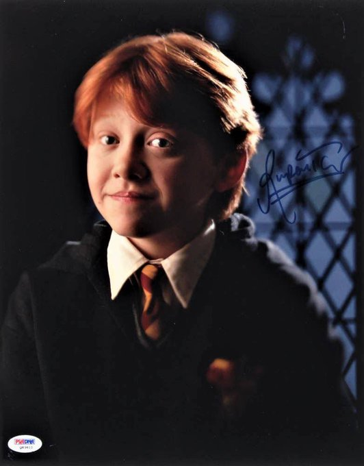 Happy Birthday to actor and producer Rupert Grint born on August 24, 1988