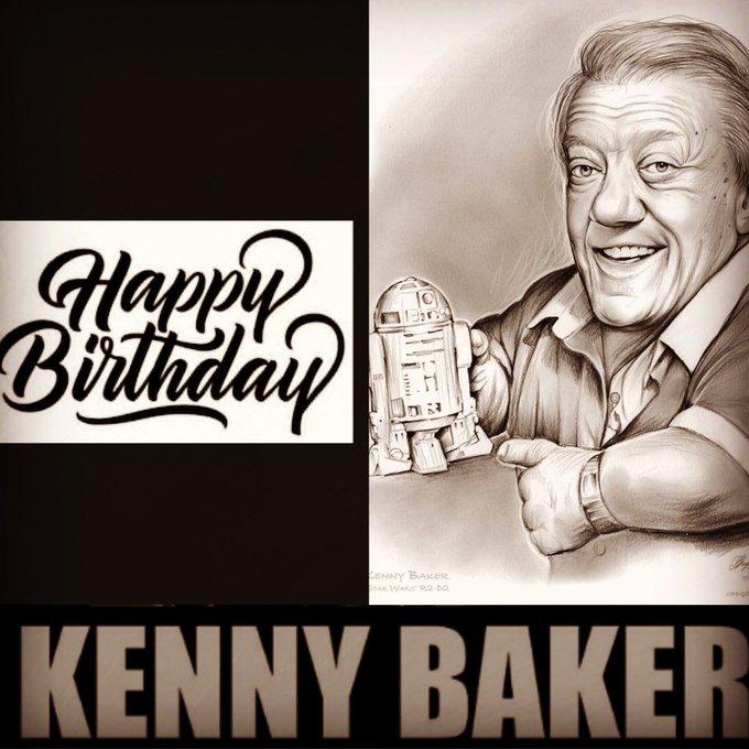 Happy birthday Kenny Baker - Star Wars
