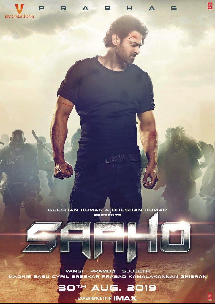 """125 Hours to Go!.  What are your Expectations on #Saaho  """" Telugu States Day 1 'SHARE' """" ?.  3 Most Accurate Predictions to get BMS Vouchers.  RT This & """" Must Reply with Tag #ABOSaaho """" Before 12 AM IST, 30th August!.  #సాహో  <br>http://pic.twitter.com/ASGq4t0ZUh"""